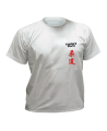 T-Shirt Judo grau mit Bestickung (Bild-1)