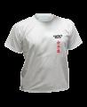 T-Shirt Karate grau mit Bestickung (Bild-1)