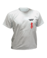 T-Shirt Kyokushinkai grau mit Bestickung (Bild-1)