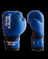 FW Blue CORNER Boxhandschuhe Klettverschluss blau/schwarz (Bild-1)