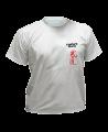 T-Shirt Bushido XL grau mit Bestickung (Bild-1)