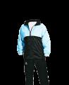 FW Team Sports Laufjacke Gr. XL schwarz/hellblau (Bild-1)
