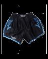 FW CORNER Thaibox Hose schwarz/blau Muay Thai Short (Bild-1)