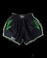 FW CORNER Thaibox Hose schwarz/grün Muay Thai Short (Bild-1)
