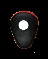 FW Handmitt curved, Cubapad Leder rot/schwarz 1Stk. (Bild-1)