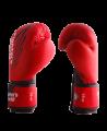 FW Red CORNER Boxhandschuhe Klettverschluss rot/schwarz (Bild-1)