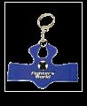 FW Schlüsselanhänger, Mini-Schutzweste TKD, rot/blau (Bild-1)
