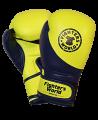 FW Boxhandschuh Strike gelb/blau 10 oz (Bild-1)