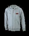 FW Hoodie Basic Herren mit Zip Kapuzensweater L grau (Bild-1)