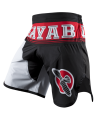 Hayabusa Flex Factor Fight Shorts rot/schwarz (Bild-1)