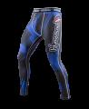 Hayabusa Metaru Compression Pants 47 Silver blau (Bild-1)