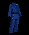 adidas Champion 2 II IJF - Slim Fit, Judo Anzug blau (Bild-1)