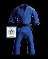 adidas J930B Champion Gi Judo Anzug blau 165cm IJF approved (Bild-1)