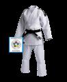 adidas J930 Slim Fit Champion Gi 155 Judo Anzug weiß IJF (Bild-1)