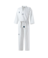 JCalicu CLUB Ribbed Uniform Gr.200  white Collar WTF approved JC-4002 (Bild-1)