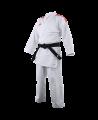 adidas K191SK Kumite Karate Anzug adiLight mit roten Schulterstreifen (Bild-1)