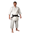 adidas K380 J ELITE Karateanzug weiß japanischer Schnitt (Bild-1)