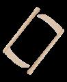 FW Kama Weißeiche traditionell ca.51cm 1Paar (2 Stk.) (Bild-1)