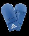 adidas Karate Faustschutz WKF + Daumen blau 661.23 (Bild-1)