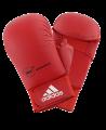 adidas Karate Faustschutz WKF + Daumen rot 661.23 (Bild-1)