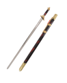 Kung Fu Schwert Jian Wettkampf Gr.L Klinge 82cm  ges Länge 103cm (Bild-1)