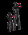 MU Wurfpuppe mit 2 Armen und 2 Beinen schwarz (Bild-1)