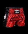 FW Thaibox Hose schwarz/rot Muay Thai Short (Bild-1)