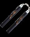 FW Nunchaku Soft Black Dragon Kette Griffe ca 32cm (Bild-1)