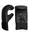 Boxsack Handschuhe Leder Bag Glove schwarz (Bild-1)