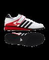 adidas Power Perfect 2 Gewichtheber Schuhe weiß/rot/schwarz G17563 (Bild-1)