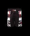 Rayben Zero MMA-Short schwarz/rot (Bild-1)