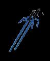 FW Octagon Sai Aluminium blau ca. 50cm 1Paar (2 Stk.) (Bild-1)