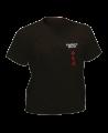T-Shirt Aikido S schwarz mit Bestickung (Bild-1)