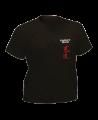 T-Shirt Bushido L schwarz mit Bestickung (Bild-1)