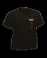 T-Shirt Hapkido schwarz mit Bestickung (Bild-1)