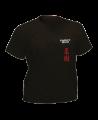T-Shirt Ju Jutsu M schwarz mit Bestickung (Bild-1)