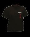 T-Shirt Karate L schwarz mit Bestickung (Bild-1)