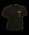 T-Shirt Kyokushinkai schwarz mit Bestickung (Bild-1)