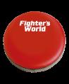 FW Roundmitt Schlagpolster rund 30 x 9 cm rot/schwarz (Bild-1)