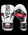 Venum ELITE Boxhandschuhe ice/schwarz/rot Venum 0985 (Bild-1)