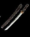 Wakizashi Trainingsschwert T3 kurz mit stumpfer Klinge (Bild-1)