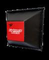 FW Wandschlagpolster Trapez aus Vinyl rot/schwarz (Bild-1)