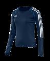 adidas T12 Clima Cool Shirt Langarm WOMAN Gr.34 blau +XS adi X13172 (Bild-1)