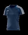adidas T12 Clima Cool Shirt Kurzarm WOMAN Gr.32 blau XS adi X13856 (Bild-1)