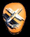 Fighter`s World XENON ALPHA Handpratze Focus Mitt orange/black 1Paar (Bild-1)