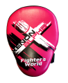 Fighter`s World XENON ALPHA Handpratze Focus Mitt rose/black 1Paar (Bild-1)