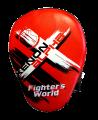 Fighter`s World XENON ALPHA Handpratze Focus Mitt red/black 1Paar (Bild-1)