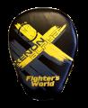 Fighter`s World XENON ALPHA Handpratze Focus Mitt black/yellow/grey 1Paar (Bild-1)