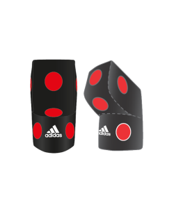 adidas Uppercut Wall Mounting Bag Leather Schwarz rot ADIUCW01