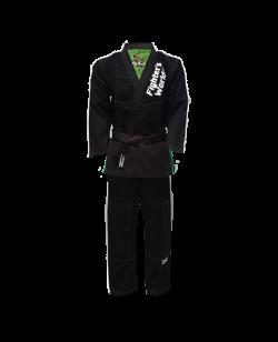 Fighter`s World PYTHON Brazilian Jiu Jitsu Anzug schwarz/grün